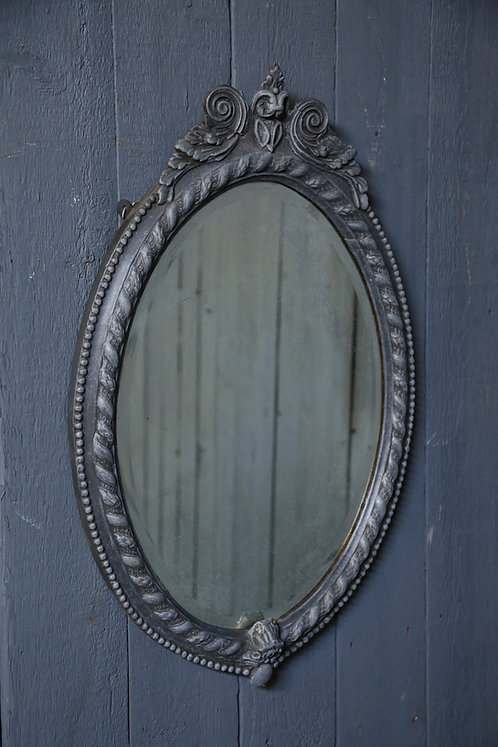C19th Oval Mirror