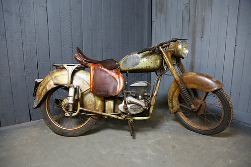 C1940/50's French Vintage Motorcycle