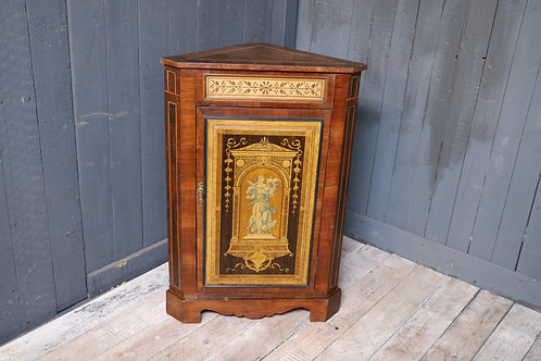 C19th Decorative Corner Cabinet