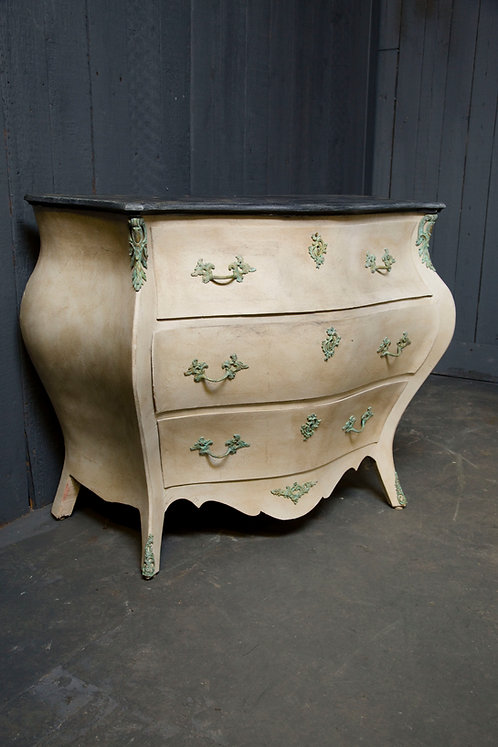 A C20th Swedish Bombe Commode