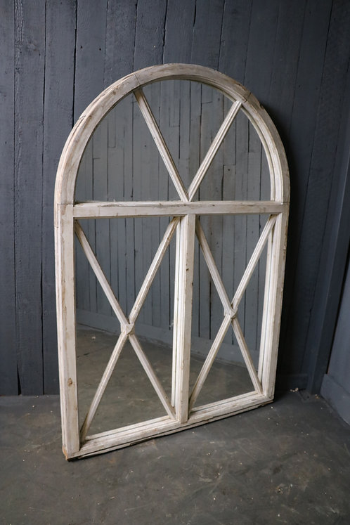 C20th Mirrored Arched Panel