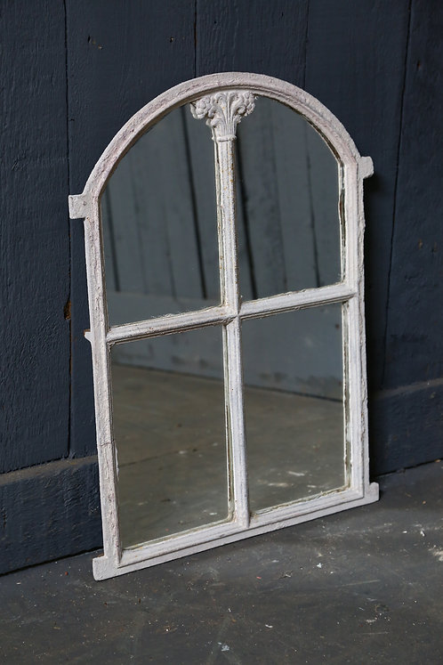 C19th Swedish Cast Iron Mirrored Panel