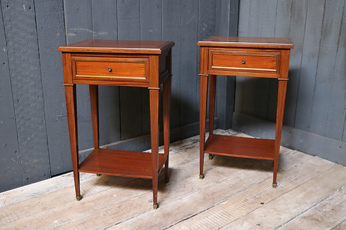 A Pair of Mid C20th Bedside Cabinets