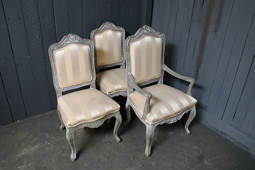 C20th Upholstered Dining Chairs