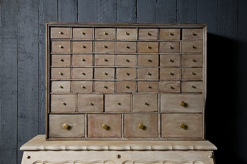 C19th Flight of Apocethary drawers