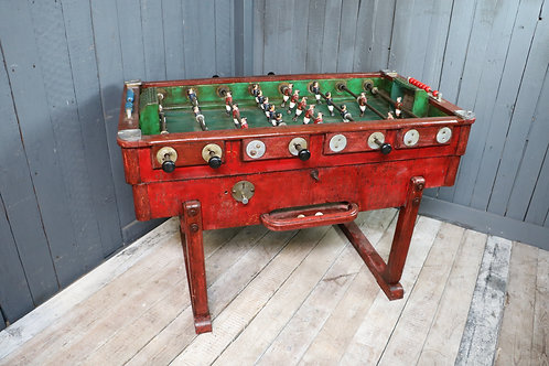 Early C20th Football Table