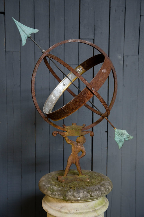 C19th Swedish Armillary Sphere
