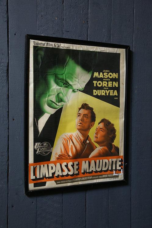 C1940's Vintage Movie Poster