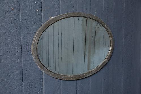 C20th Oval Mirror
