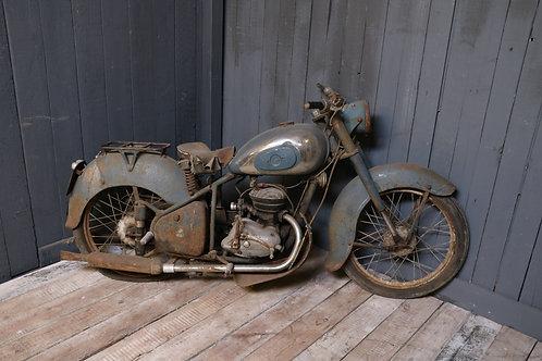 C1950's Vintage Motorcycle