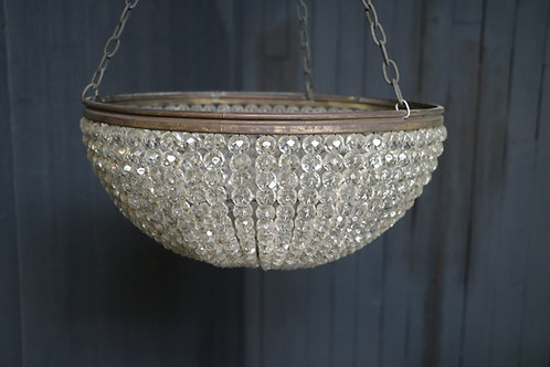C20th Basket Chandelier