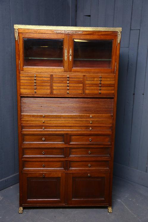 C19th Empire style cabinet