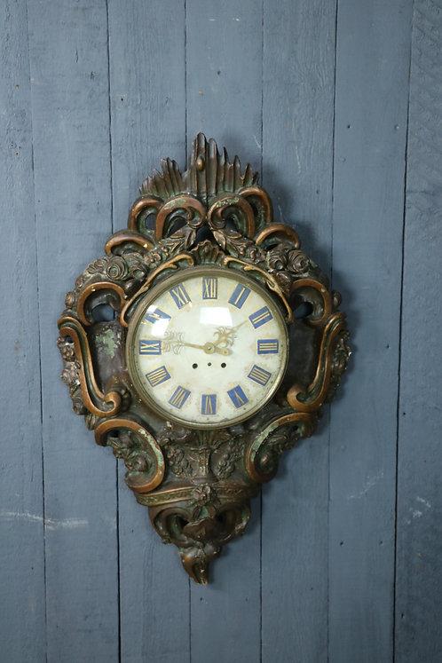 Early C19th Swedish Wall Clock
