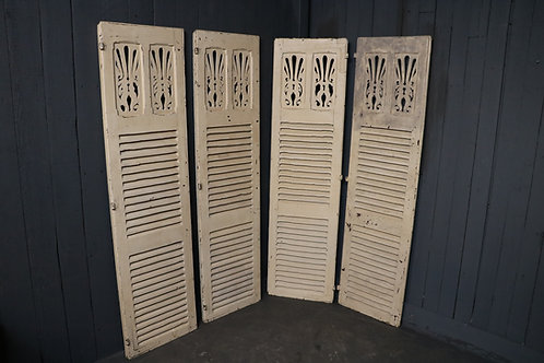 Late C19th Shutters