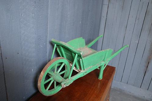 C1930's Bespoke Made Miniature Wheel Barrow