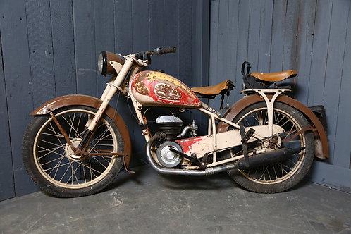 C1950 Vintage Motorcycle