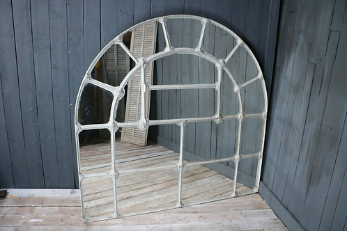 C19th Arched Metal Architectural Panel