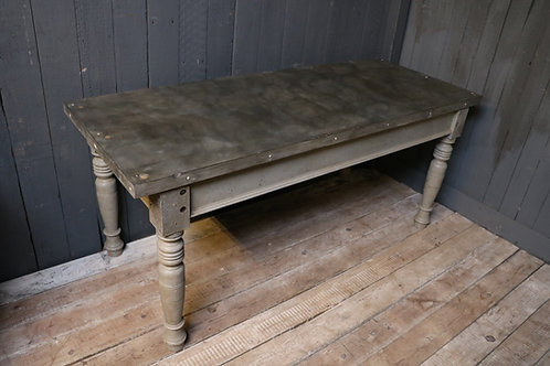 C20th Slate Top Center Table