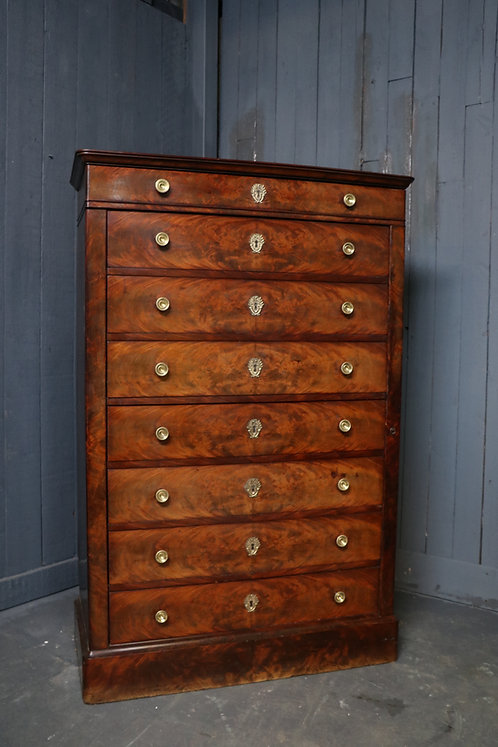 C1830 Charles X Chest of Drawers