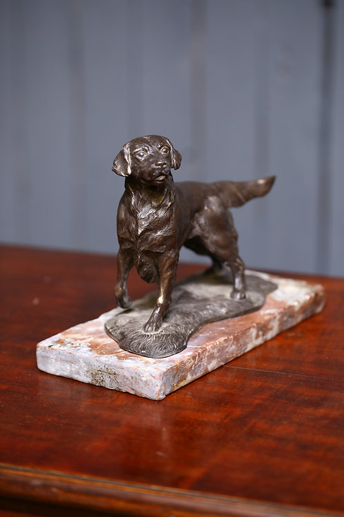 C20th Cast study of a hound