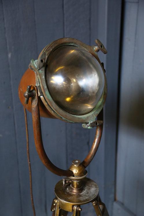 C1910 Nautical Lamp on Tripod