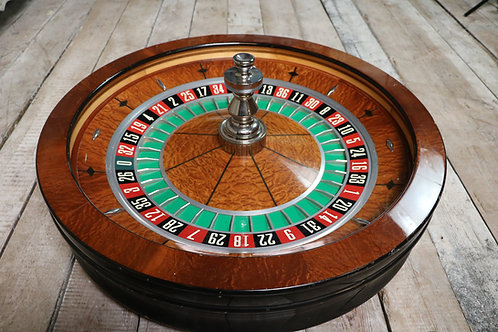 C20th Original Casino Roulette wheel