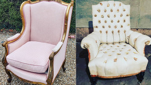 Antique French Chair and Sofa co