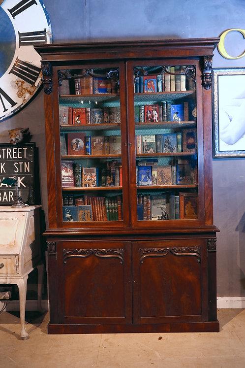 C1840 William IV Bookcase Chiffonier