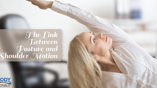 The Link Between Posture and Shoulder Motion