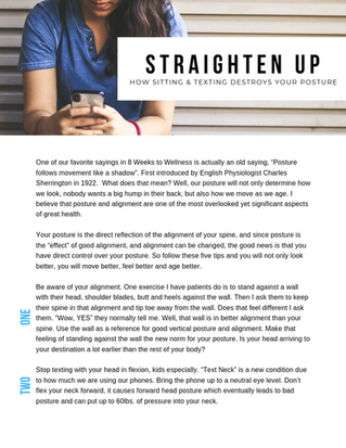Straighten UP!