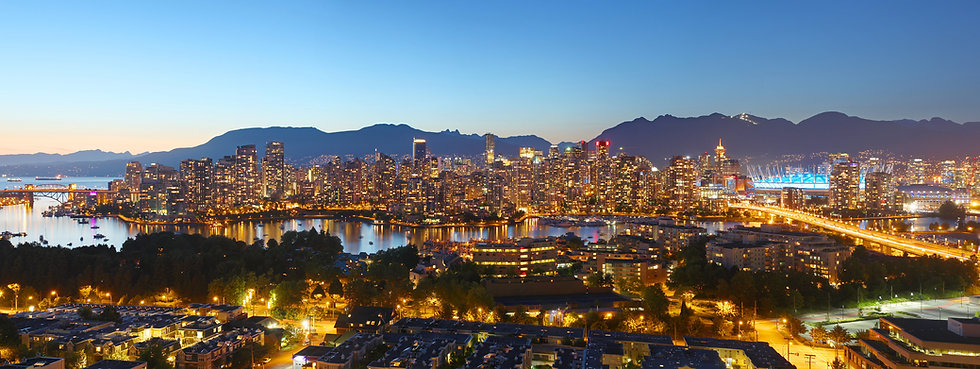 Vancouver B.C, Skyline