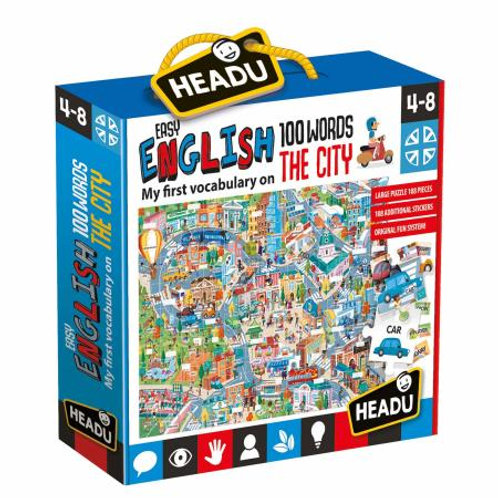 Easy english 100 words-the City