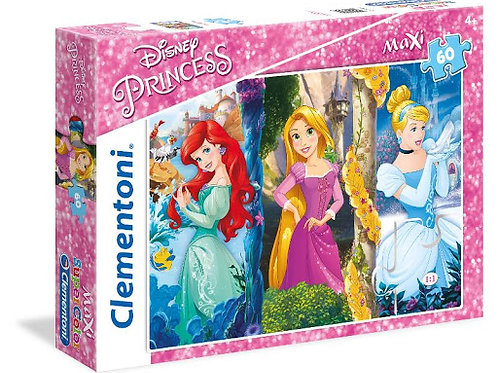 Puzzle 60 pz Maxi - Princess