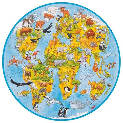 Puzzle 49 pz Mondo