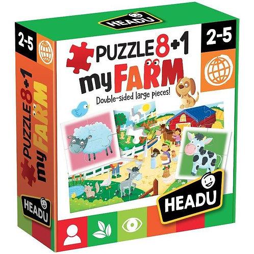 Puzzle 8+1 - fattoria
