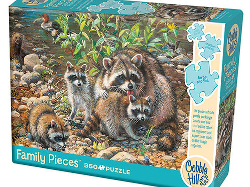 family puzzle  350 pz - Racoon family