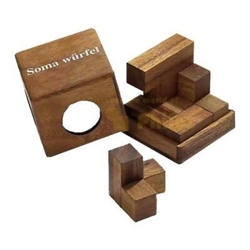 Rompicapo cubo legno - Soma