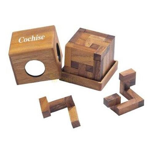 Rompicapo cubo legno grande - Cochise