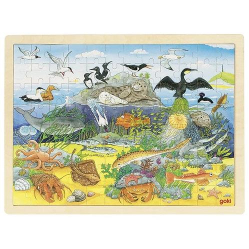 Puzzle 96 pz Mare