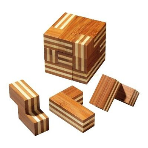 Rompicapo bambù 8
