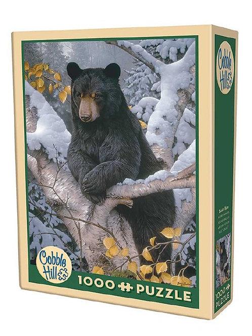 Puzzle 1000 pz - Orso nero