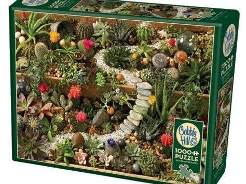 Puzzle 1000 pz - Succulent garden
