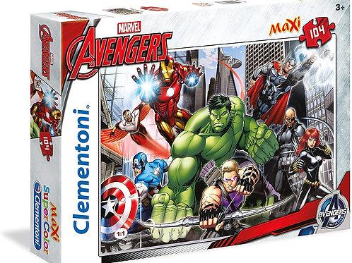 Puzzle 104 pz Maxi - Avengers