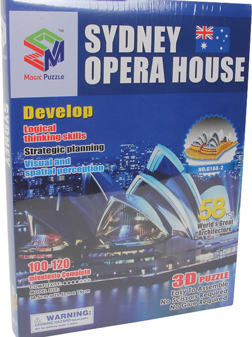 Puzzle 3D Opera House