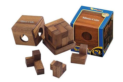 Rompicapo cubo legno - Minos
