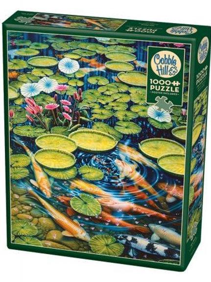 Puzzle 1000 pz - Koi Pond