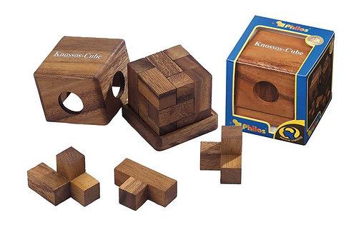 Rompicapo cubo legno - Knossos