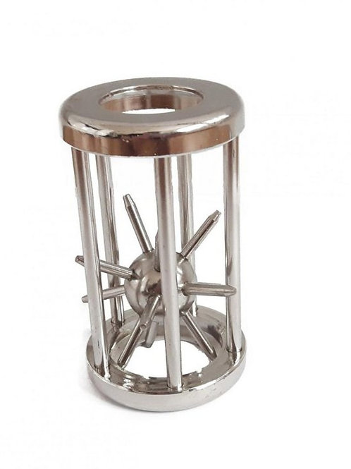 Rompicapo gabbia metallo