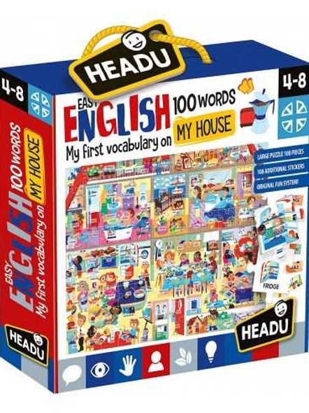 Easy English 100 Words-My House