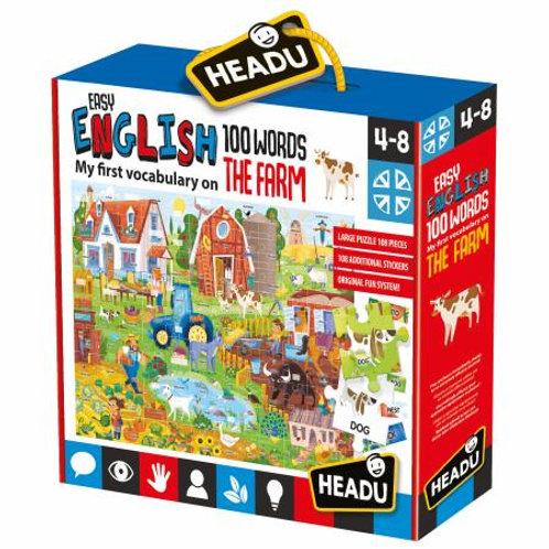 Easy english 100 words - the Farm